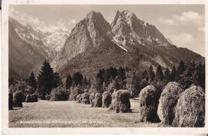 Waxensteine und Hollenterspitzen bei Granau 1938
