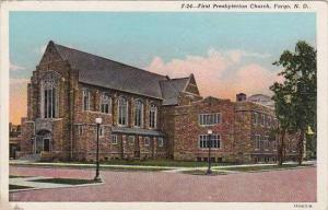 North Carolina Fargo First Presbyterian Church 1946