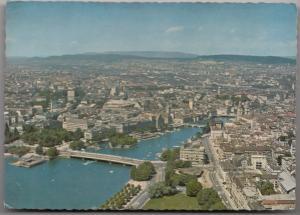 Zurich, panorama, unused Postcard