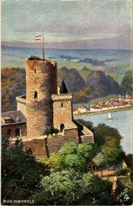 CPA AK St. Goar- Burg Rheinfels GERMANY (1029781)