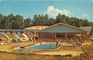 Parkers Lake Kentucky 1968 Postcard Falls Motel & Restaurant