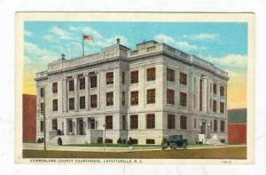 Court House , Fayetteville, North Carolina, PU-1931
