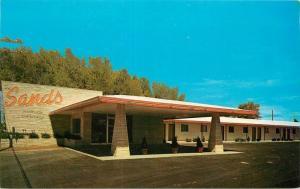 Cortez Colorado 1950s Sands Motel roadside Chester Litho postcard 11111