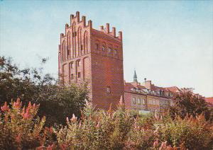 OLSZTYN , Poland , 50-70s ; Wysoka Brama z XIV w. obecnie schronisko PTTK
