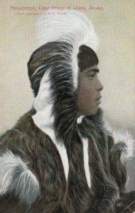 ALASKA ; Cape Prince of Wales, 00-10s Eskimo Menadelook