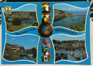 England Greetings from Mevagissey - unposted
