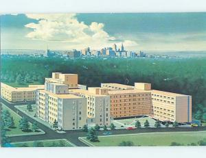 Unused Pre-1980 BUILDING SCENE Tulsa Oklahoma OK H4358