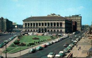 Massachusetts Boston Copley Square Public Library