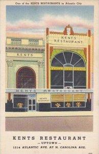New Jersey Atlantic City Kents Restaurant 1214 Atlantic Avenue