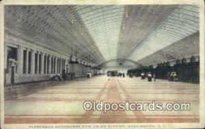 Passenger Concourse New Union Station, Washington DC, District of Columbia, U...