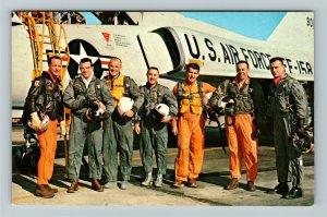 Orlando FL- Florida, John F Kennedy Space Center, Chrome Postcard