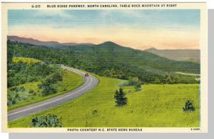Blue Ridge Parkway, North Carolina/NC Postcard, Near Mint!
