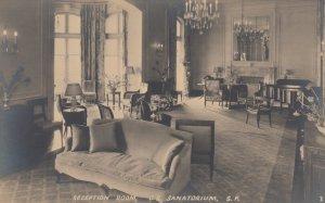 RP: SAN FRANCISCO, CA, 1900-10s ; C.S. Sanatorium , Reception Room