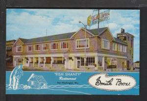 Fish Shanty Restaurant,Port Washington,WI Postcard