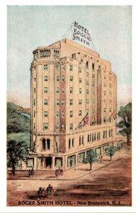 New Jersey New Brunswick Roger Smith Hotel 1948