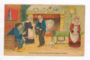 Man asks for girl from parents  La Pere Francoue je voulion offrir ma fleur a...