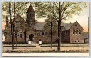 St Johnsbury Vermont~Industrialist Franklin Fairbanks Victorian Museum~c1905