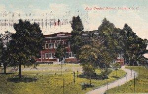 LAURENS, South Carolina, PU-1912; New Graded School, version 2