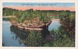 Wisconsin Milwaukee Lone Rock Dells Of The Wisconsin River