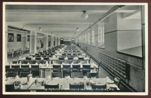 dc302 - TROIS RIVIERES Quebec Postcard 1930s Seminary Interior. Dining Room