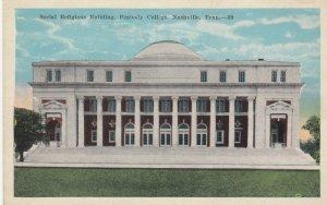 NASHVILLE , Tennessee , 1910s ; Social Religious Building