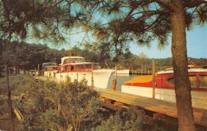 Rehoboth Beach Delaware Henlopen Yacht Basin Vintage Postcard K106722