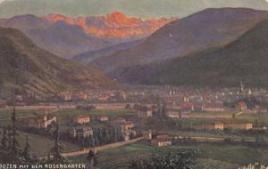 BOZEN, South Tyrol , Italy , 00-10s ; Mit Dem Rosengarten; TUCK 665 B