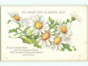 Divided-Back BEAUTIFUL FLOWERS SCENE Great Postcard AA2980