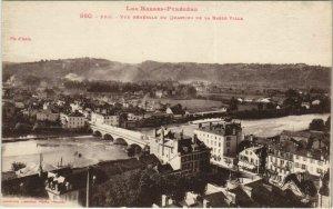 CPA Pau vue generale du Quartier de la Basse Ville FRANCE (1124213)