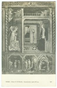 FIRENZE, Chiesa di S. M. Novella, Annunziazione unused Postcard