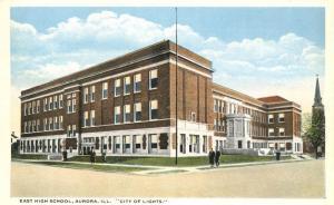 East Hight School - Aurora IL, Illinois - City of Lights - WB