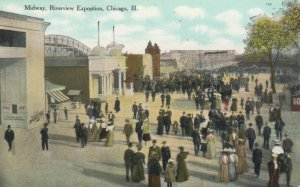 CHICAGO, Illinois, 1900-10s ; Riverview Exposition, Midway