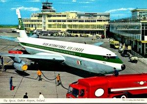 Ireland Co Dublin Dublin Airport Aer Lingus Jet On The Apron