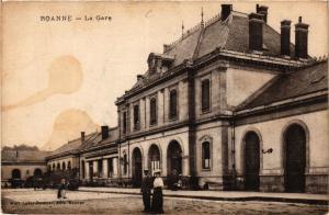 CPA ROANNE La Gare (339221)