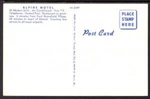 Alpine Motel,Inkster,MI