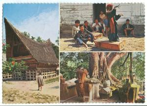 Indonesia, Batak house, Isle of Samosir, lake of Toba, North Sumatra, 1974 used