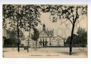 213988 FRANCE ARCENTEUIL Town Hall Vintage RPPC to Russia