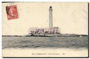 Postcard Marseille Old Lighthouse Planier