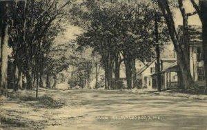 Main St. in Waldoboro, Maine