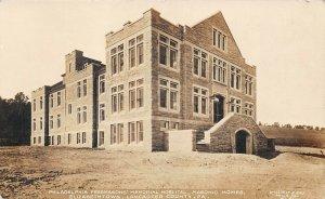 LPS58 Elizabethtown Pennsylvania Free Masons' Memorial Hospital Postcard RPPC