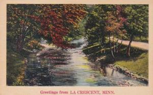 Minnesota Greetings From La Crescent