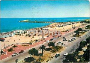 Postcard Modern Giulianova Beach View