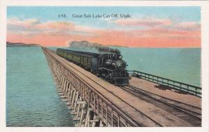 Great Salt Lake Cut Off, Utah, 1920s
