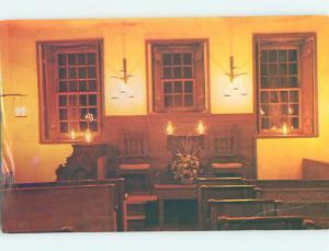 Pre-1980 CHURCH SCENE Portsmouth New Hampshire NH L5417