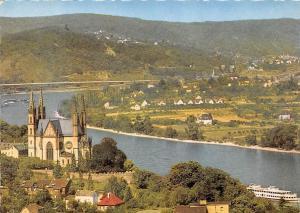 Remagen am Rhein Apollinariskirche mit Blick auf Unsel Church River Panorama