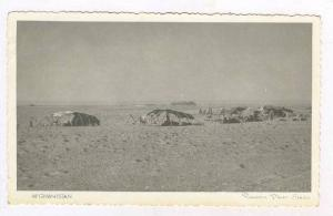 RP  Nomad camp, naer Kabul, Afghanistan, Animal skin tents, 1920-30s