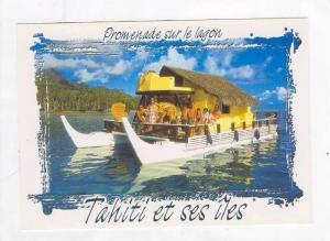 Tahiti, 60-80s, House on the Lagoon