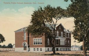 GODERICH , Ontario , 1907 : Victoria Public School