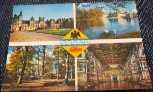 France Fontainebleau Multi-view - unposted