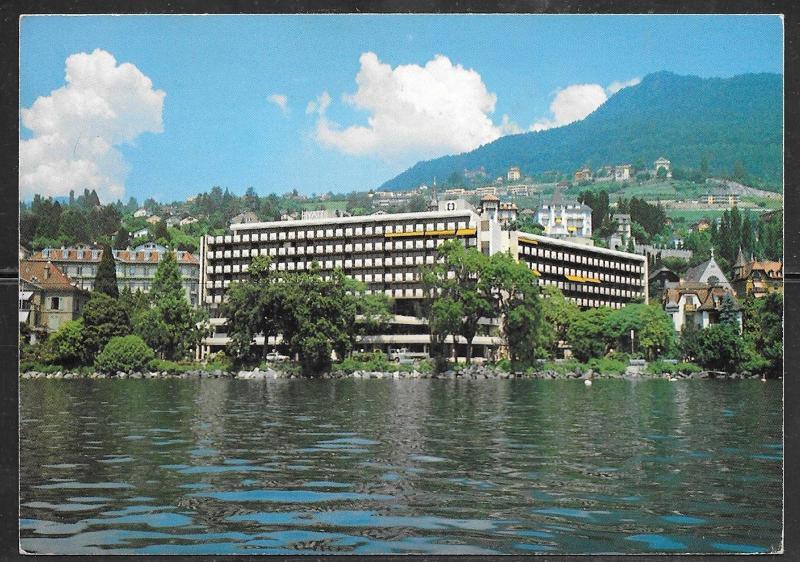 Switzerland, Montreux, Vaud, Hyatt Hotel mailed in 1984
